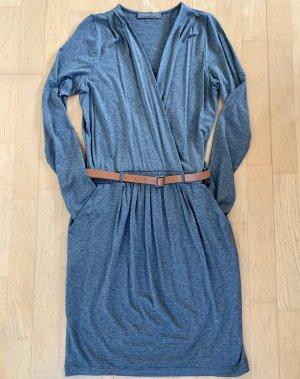 Hallhuber Jerseykleid grau meliert