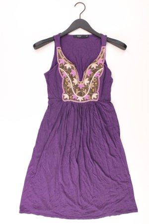 Hallhuber Jerseykleid Größe S Träger lila aus Viskose