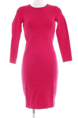 Hallhuber Jersey Dress magenta elegant