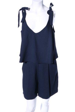 Hallhuber Jumpsuit blau Casual-Look