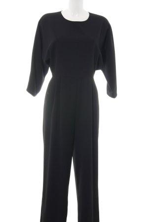 Hallhuber Jumpsuit schwarz Business-Look