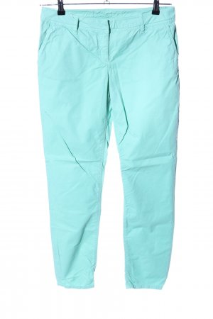Hallhuber Peg Top Trousers turquoise casual look