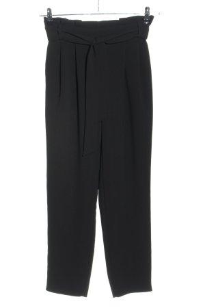 Hallhuber Peg Top Trousers black casual look