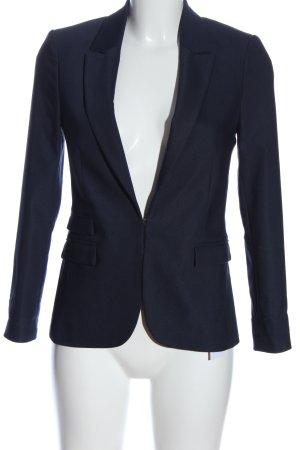 Hallhuber Klassischer Blazer blau Business-Look