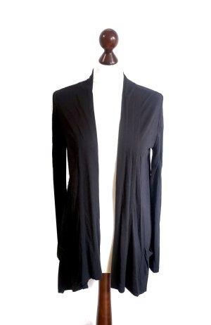 Hallhuber klassischer schwarzer Cardigan Gr. XS 100% Viskose