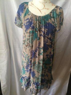 Hallhuber Sukienka z falbanami Wielokolorowy
