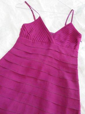 Hallhuber Kleid dunkel pink/purpur Gr. 36 ungetragen
