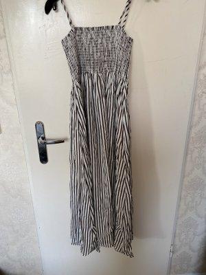 Hallhuber Summer Dress white-bronze-colored