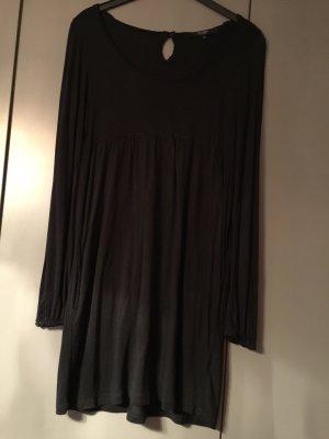Hallhuber Vestido estilo camisa negro