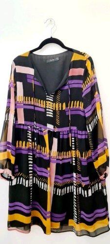 Hallhuber Kleid / Größe M / 70er Jahre Muster