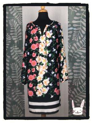 Hallhuber Kleid mit Blumenmuster