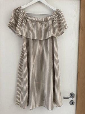 Hallhuber Sukienka z dekoltem typu bandeau Wielokolorowy