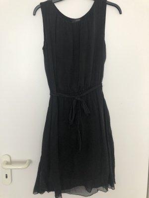 Hallhuber Kleid Seide Gr 36 S