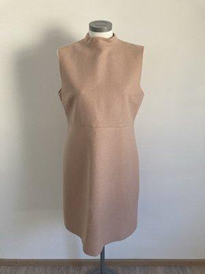 Hallhuber Kleid Wolle rosa rose nude 42 XL