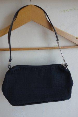 Hallhuber kleine schwarze Handtasche