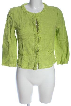 Hallhuber Kurz-Blazer grün Casual-Look