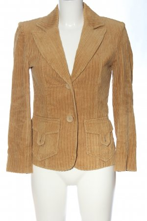 Hallhuber Kurz-Blazer braun Business-Look
