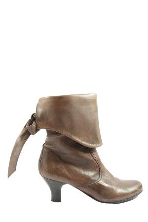 Hallhuber Korte laarzen bruin casual uitstraling