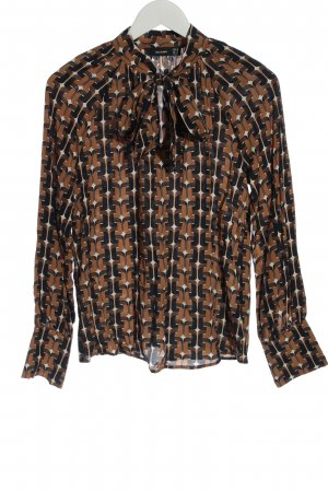 Hallhuber Long Sleeve Blouse allover print casual look