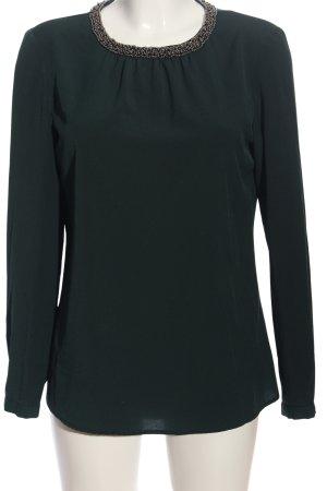 Hallhuber Langarm-Bluse grün Casual-Look