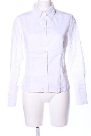 Hallhuber Camicia a maniche lunghe bianco stile casual