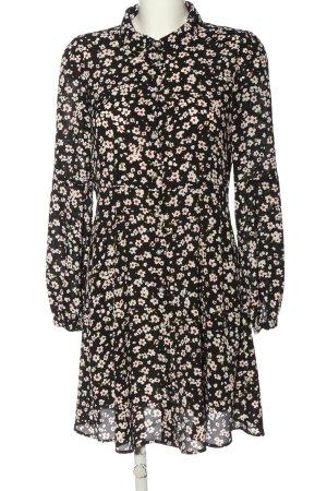 Hallhuber Sukienka z długim rękawem Wzór w kwiaty W stylu casual