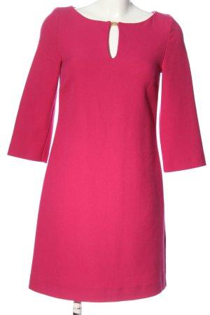 Hallhuber Langarmkleid pink Casual-Look