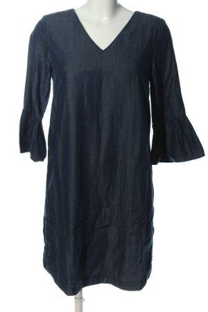 Hallhuber Langarmkleid blau Casual-Look