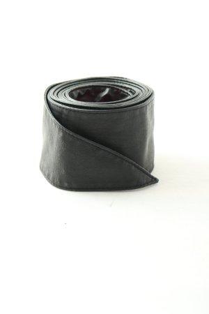 Hallhuber Ledergürtel schwarz Casual-Look