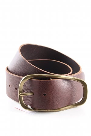 Hallhuber Leather Belt brown casual look