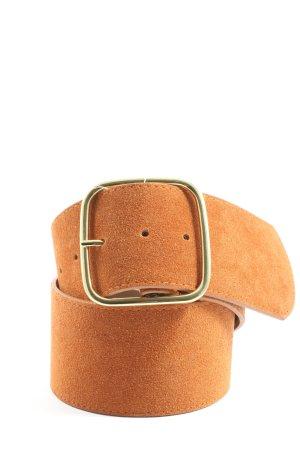 Hallhuber Faux Leather Belt light orange casual look