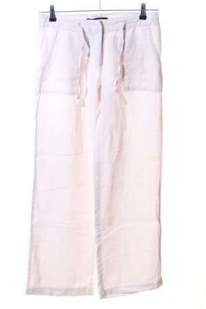 Hallhuber Leinenhose pink Casual-Look