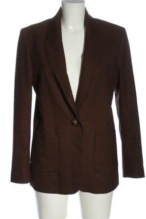 Hallhuber Long-Blazer braun Business-Look