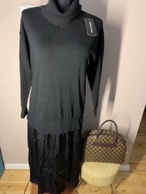 Hallhuber Swetrowa sukienka czarny