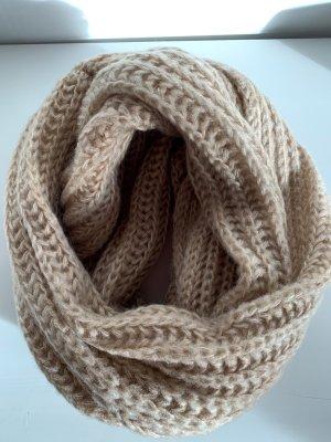 Hallhuber Bufanda de lana crema
