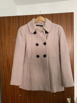 Hallhuber Krótki płaszcz w kolorze różowego złota