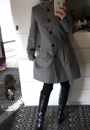 Hallhuber Abrigo de lana multicolor