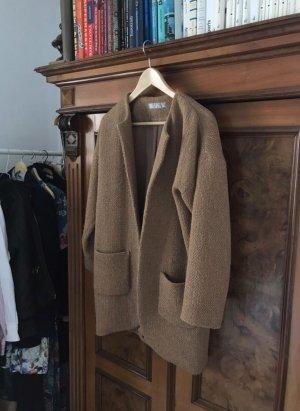 Hallhuber Wool Coat multicolored