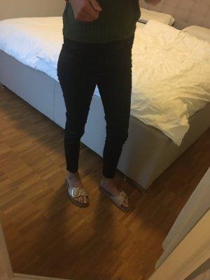 Hallhuber matt/schwarz Hose
