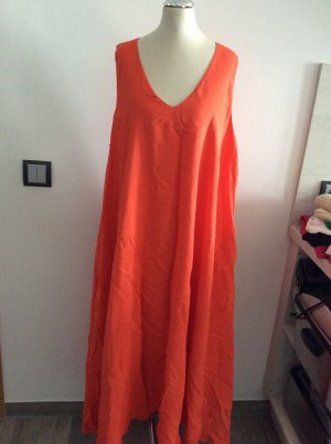 Hallhuber Empire Dress neon orange