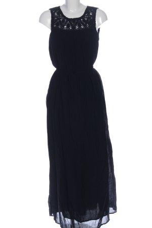 Hallhuber Maxikleid schwarz Elegant