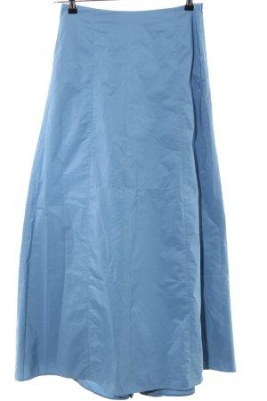 Hallhuber Maxirock blau Casual-Look