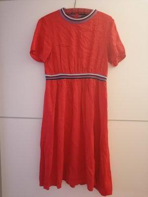 Hallhuber Midi Kleid rot