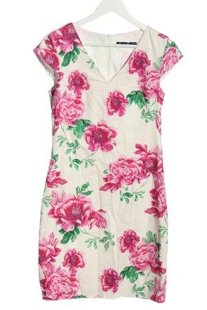 Hallhuber Shortsleeve Dress flower pattern casual look
