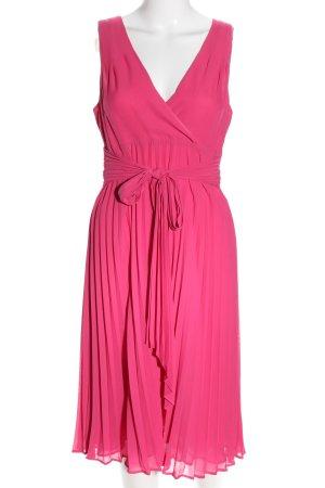 Hallhuber Midikleid pink Business-Look
