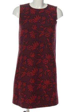 Hallhuber Sukienka mini czerwony Na całej powierzchni W stylu casual
