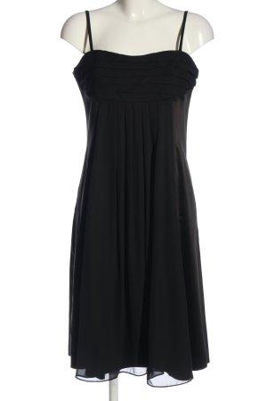 Hallhuber Midikleid schwarz Elegant
