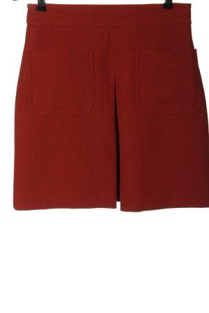 Hallhuber Spódnica mini czerwony W stylu casual