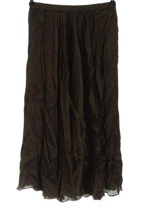 Hallhuber Spódnica midi brązowy-khaki Na całej powierzchni W stylu casual