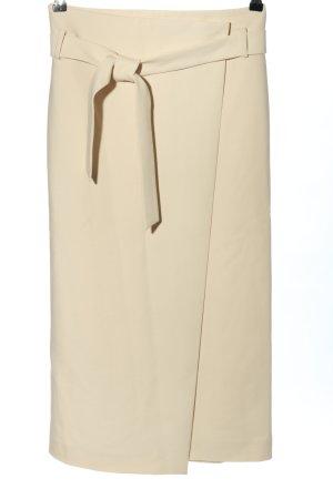 Hallhuber Spódnica midi kremowy Elegancki